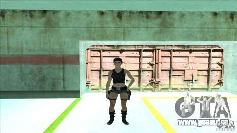 Lara Croft für GTA San Andreas