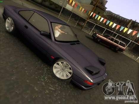 BMW 850 CSI pour GTA San Andreas vue de côté