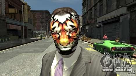 Tatoo Tiger pour GTA 4