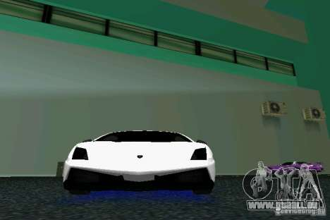 Lamborghini Gallardo LP570 SuperLeggera für GTA Vice City Innenansicht