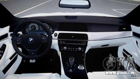 BMW M5 F10 2012 M Stripes pour GTA 4 est un droit