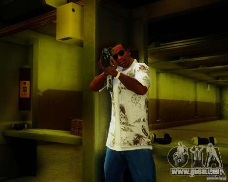 Tavor Tar-21 Digital für GTA San Andreas zweiten Screenshot