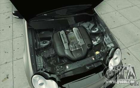 Mercedes-Benz C32 AMG Tuning für GTA San Andreas Unteransicht