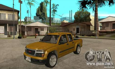 GMC Canyon 2007 pour GTA San Andreas