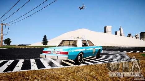 Dodge Diplomat 1983 Police v1.0 pour GTA 4 Vue arrière de la gauche