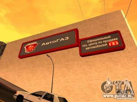 GAZ für GTA San Andreas zweiten Screenshot