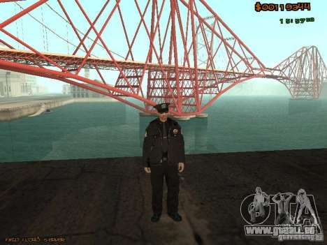 Sheriff Departament Skins Pack pour GTA San Andreas
