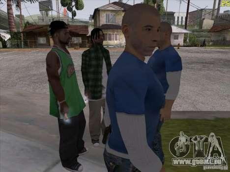 Vin Diesel pour GTA San Andreas deuxième écran