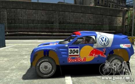 Volkswagen Touareg Rally für GTA 4 linke Ansicht