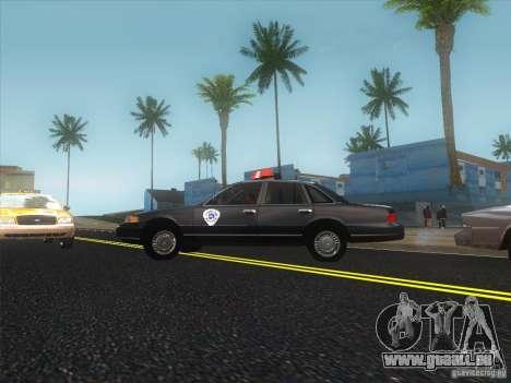 Ford Crown Victoria 1992 Detroit OCP pour GTA San Andreas laissé vue