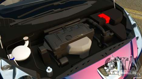 Peugeot 308 2007 pour GTA 4 est un côté