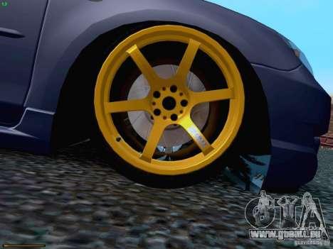 Mazda Speed 3 für GTA San Andreas Seitenansicht