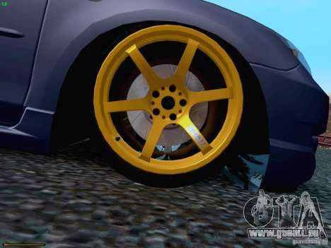 Mazda Speed 3 pour GTA San Andreas vue de côté