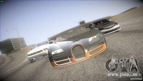 Bugatti Veyron Super Sport für GTA San Andreas linke Ansicht