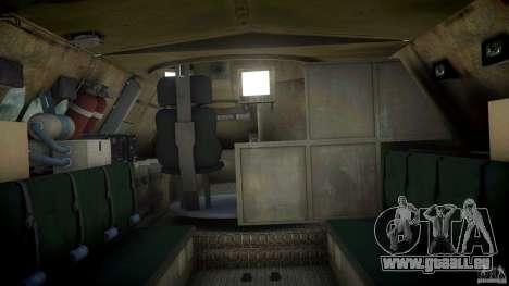Coyote Reconaissance Vehicle pour GTA 4 est une gauche
