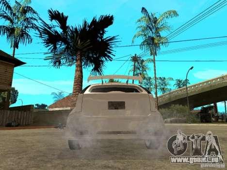 Ford Focus Tuned pour GTA San Andreas sur la vue arrière gauche