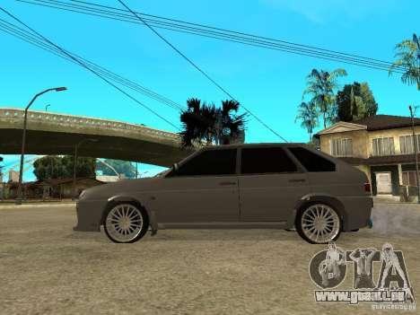 VAZ 2109 Tuning pour GTA San Andreas laissé vue