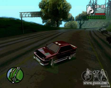 VAZ 21099 NFS Tuning für GTA San Andreas