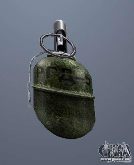 Eine Reihe von Waffen aus einem stalker für GTA San Andreas zweiten Screenshot