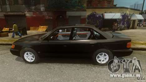 Audi 100 C4 1992 für GTA 4 linke Ansicht