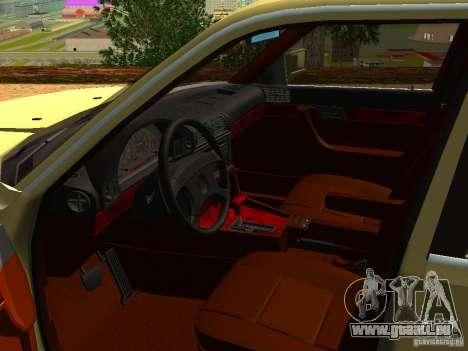 BMW 535 pour GTA San Andreas vue arrière
