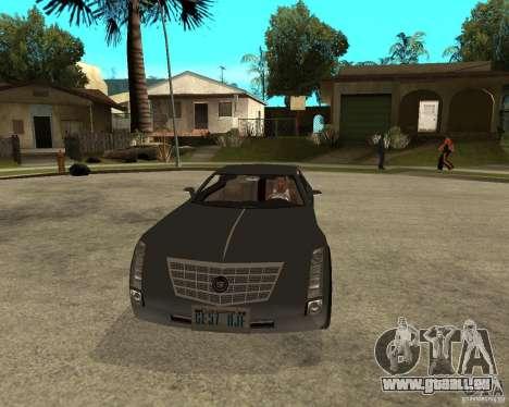 Cadillac Sixteen für GTA San Andreas Rückansicht