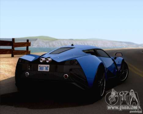 Marussia B2 2010 für GTA San Andreas linke Ansicht
