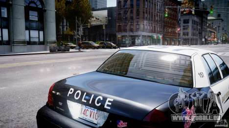 Ford Crown Victoria Massachusetts Police [ELS] für GTA 4