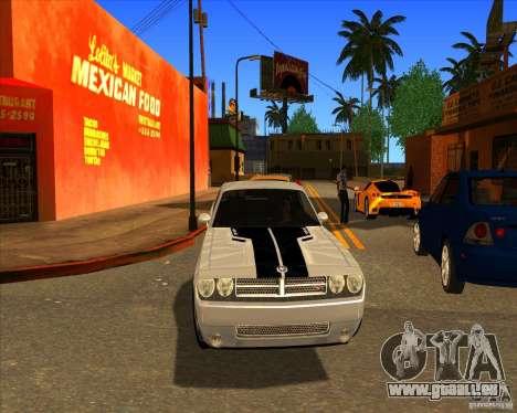 Cadre magnifique ENBSeries pour GTA San Andreas sixième écran