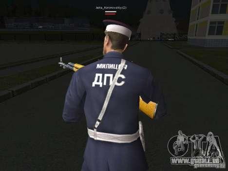 Peaux de milice pour GTA San Andreas sixième écran