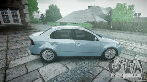 Volkswagen Voyage Comfortline für GTA 4 Seitenansicht
