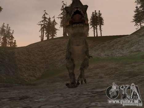 Dinosaurs Attack mod für GTA San Andreas fünften Screenshot