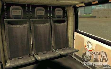 MD 902 Explorer pour GTA San Andreas vue arrière