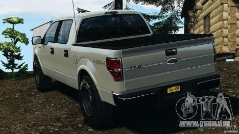 Ford F-150 v1.0 für GTA 4 hinten links Ansicht