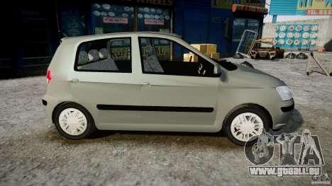 Hyundai Getz 2005 für GTA 4 Rückansicht