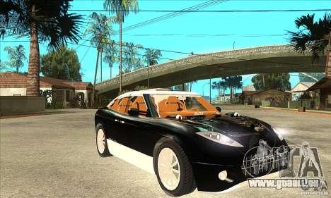 Spyker D8 Peking-to-Paris pour GTA San Andreas vue arrière