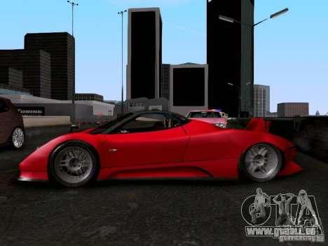 Pagani Zonda EX-R für GTA San Andreas rechten Ansicht