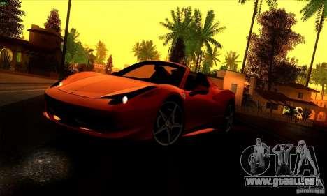 SA_gline 4.0 pour GTA San Andreas deuxième écran