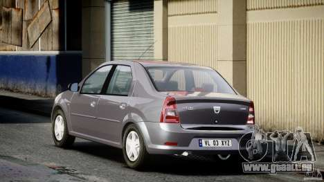 Dacia Logan v1.0 für GTA 4 hinten links Ansicht