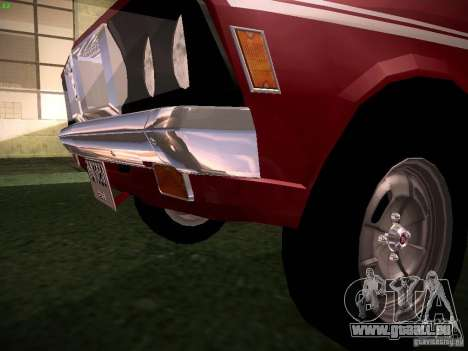 Mitsubishi Galant GTO-MR pour GTA San Andreas vue intérieure