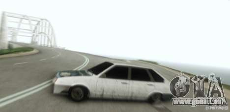 VAZ 2109 Hobo für GTA San Andreas Rückansicht