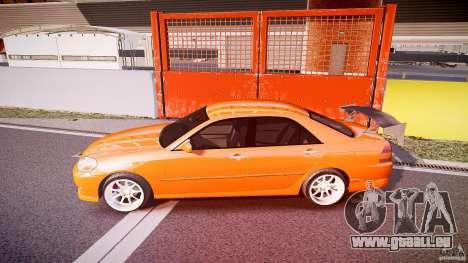 Toyota JZX110 pour GTA 4