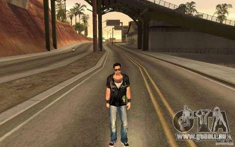 Biker pour GTA San Andreas cinquième écran