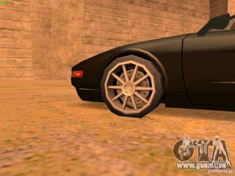 Infernus Revolution pour GTA San Andreas moteur