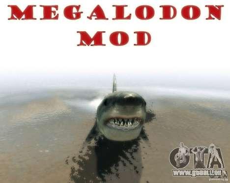 Megalodon pour GTA 4