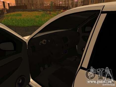 VAZ 1118 pour GTA San Andreas vue arrière
