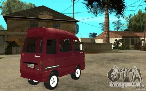 KIA Towner pour GTA San Andreas vue de droite