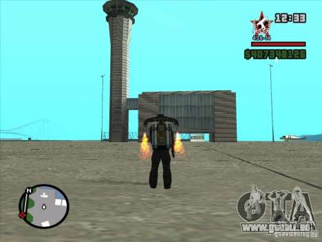 Un nouvel aéroport à San Fierro pour GTA San Andreas huitième écran