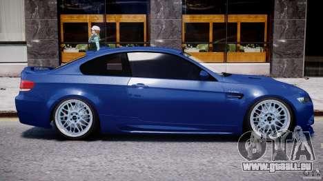 BMW M3 Hamann E92 pour GTA 4 vue de dessus