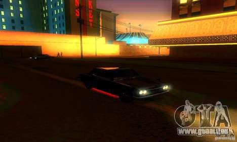 Nissan Skyline 2000-GTR pour GTA San Andreas moteur